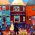 Esplanade Street Sabbath Walk by Carole Spandau