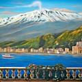 Etna Sicily by Italian Art