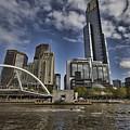 Eureka Tower-view From Cityside by Douglas Barnard