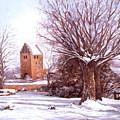 European Winter Scene by Grace Nikander