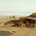 Evening Prayer In The West by Frederick Goodall