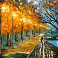 Evening Rain by Charles Vaughn