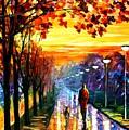 Evening Stroll by Leonid Afremov