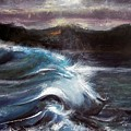 Evening Wave by Valerie Wolf