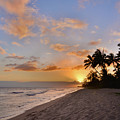 Ewa Beach Sunset 2 - Oahu Hawaii by Brian Harig