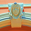 Face Of Espanola Way by Jost Houk