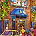 Fairmount Bagel Fairmount Street Montreal by Carole Spandau