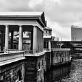 Fairmount Water Works In Black And White by Bill Cannon