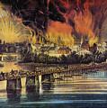Fall Of Richmond, 1865 by Granger