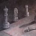Fallen Chessman by Sandy Clift