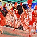 Famous French Cancan by Stanley Morganstein