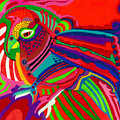 Fantasy Parrot by Lydia L Kramer