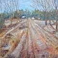 Farm In Fall by Joseph Sandora Jr