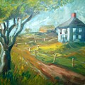 Farm In Gorham by Joseph Sandora Jr