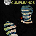 Feliz Cumpleanos  Happy Birthday Moonlight And Roses by Eric Kempson