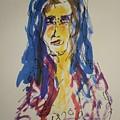 Female Face Study Y by Edward Wolverton