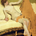 Female Nude by Sir Lawrence Alma-Tadema