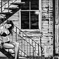 Feminine Stairwell by Blake Richards