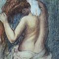 Femme A Sa Toilette by Edgar Degas