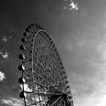 Ferris Wheel Against Sky by Kiyoshi Noguchi