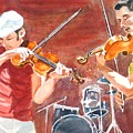 Fiddles by Karen Ilari