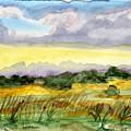 Field And Sky 2 by Warren Thompson