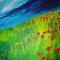 field of Poppies 2 by Misty VanPool