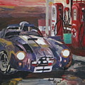 Fill Er Up by David Poyant Paintings
