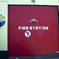 Fire Door In Macroom Ireland by Teresa Mucha
