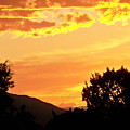 Fire In The Sky 1 by Brian  Commerford