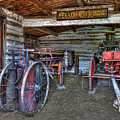 Firefighting Engine Company No. 1 - Nevada City Montana Ghost Town by Daniel Hagerman
