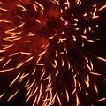 Fireworks Light Up The Sky While Celebrating Bastille Day by Sami Sarkis