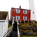 Fisgard Lighthouse by Sonja Anderson