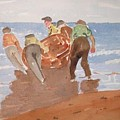 Fishermen by Roger Cummiskey