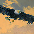 Fishing Eagle by Donald Maier