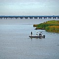 Fishing On The Flats by Michael Thomas