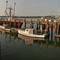 Fishing Pier by David Bishop