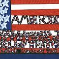 Flag One by Darrell Black