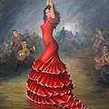 Flamenco Dancer by Mai Griffin