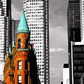Flat Iron Building Toronto by John  Bartosik