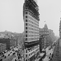 Flatiron Building During Construction by Everett