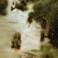 Flood Tide In The Salt Marsh by RC DeWinter