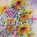 Floral Symphony by Corynne Hilbert