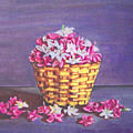 Flower Basket by Usha Shantharam