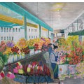 Flower Market by Hal Newhouser