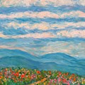 Flower Path To The Blue Ridge by Kendall Kessler