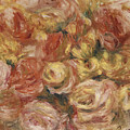 Flower Sketch by Pierre Auguste Renoir