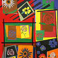Flower Study 2 by Teddy Campagna