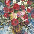Flowers In A Basket by Nira Schwartz
