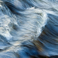 Flowing River Water by Bill Brennan - Printscapes
